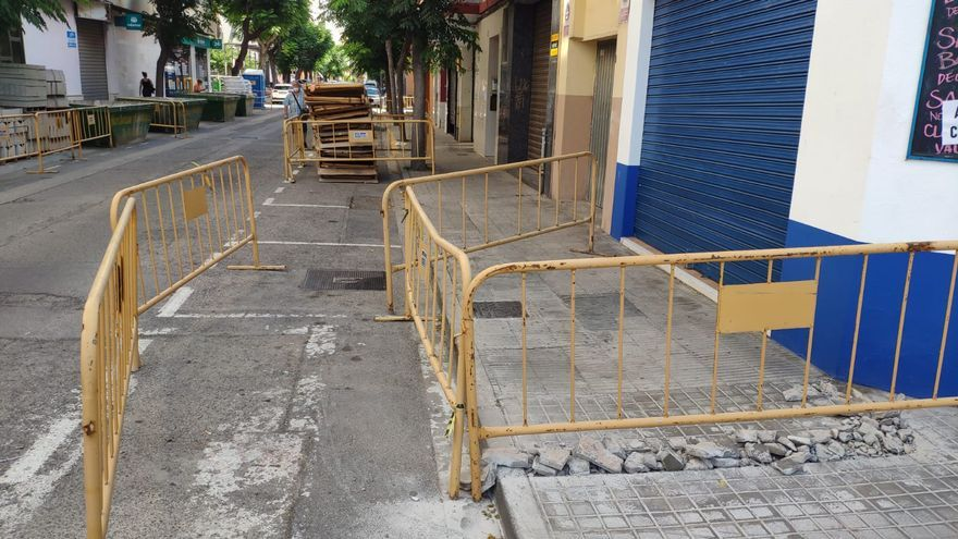Comienzan las obras de mejora de la calle Marqués del Turia de Benetússer