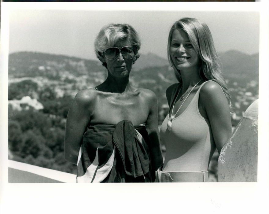 La primera entrevista a Claudia Schiffer en su casa de Andratx
