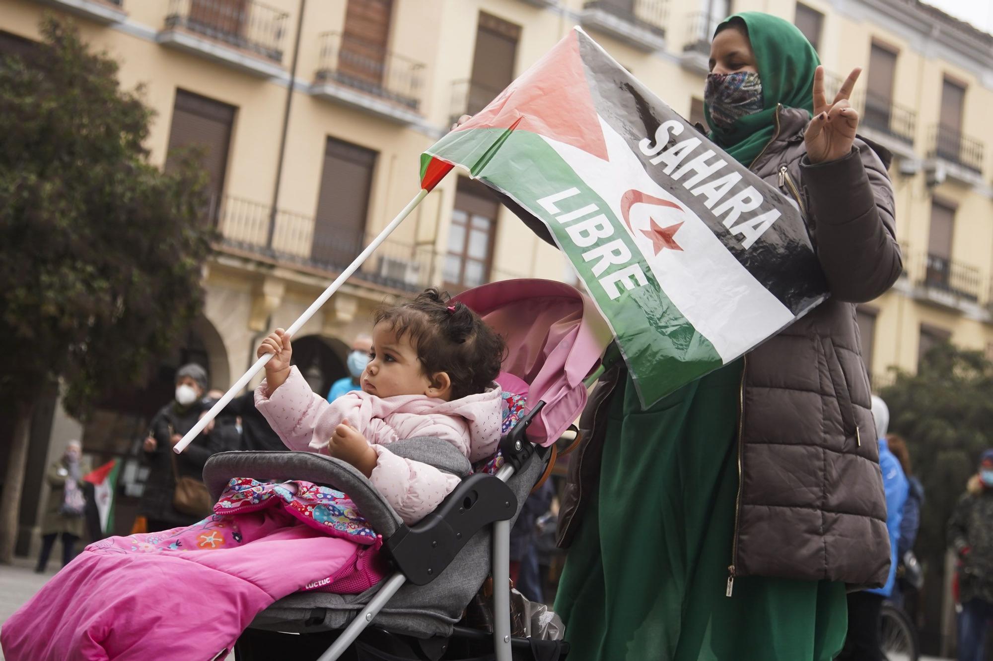 GALERÍA | Zamora se moviliza para pedir un Sáhara libre