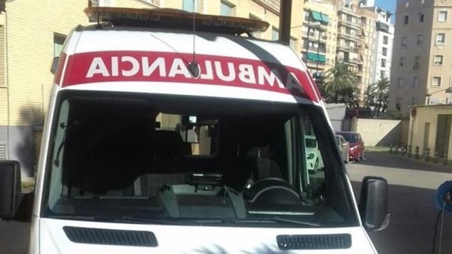 Dos heridos en un accidente de coche en Picanya