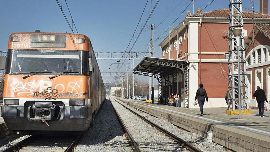 Sant Vicenç guanyarà un nou pas subterrani amb la reforma a l'estació de Renfe