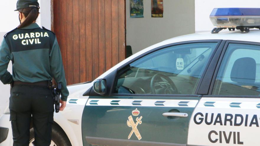 La escalofriante imagen de la Guardia Civil en Twitter