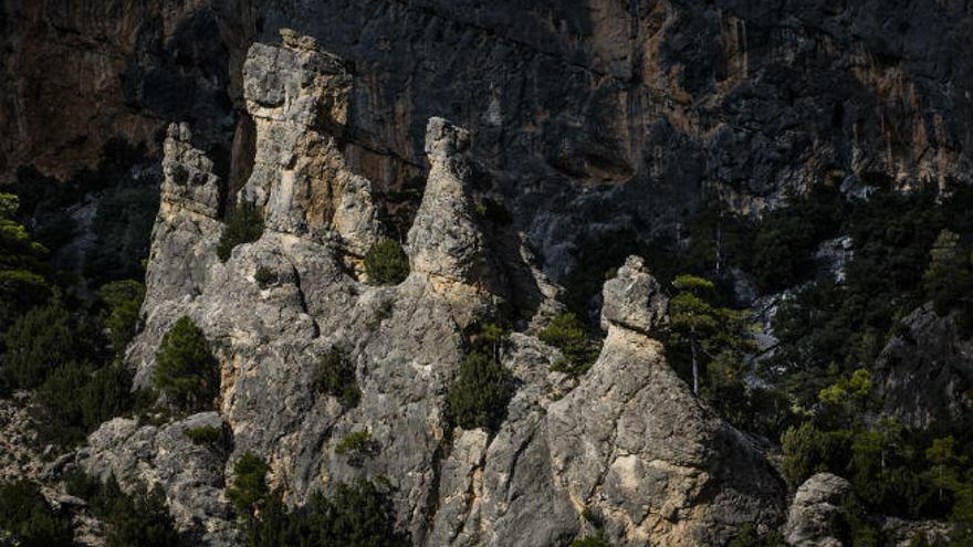 La Rambla de Sellumbres, desfiladeros monumentales cincelados por la erosión fluvial