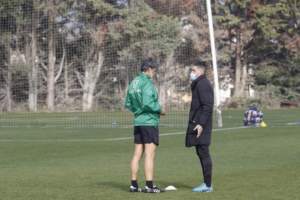Alberto Ródenas ya entrena con el Córdoba CF
