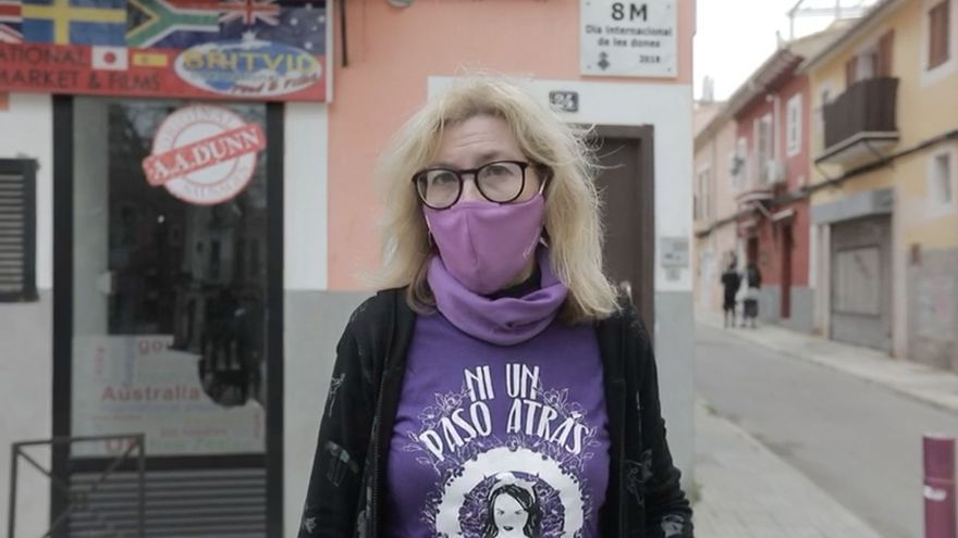 """María José Busquets: """"En este 8-M, llamamos a la movilización simbólica de las calles"""""""