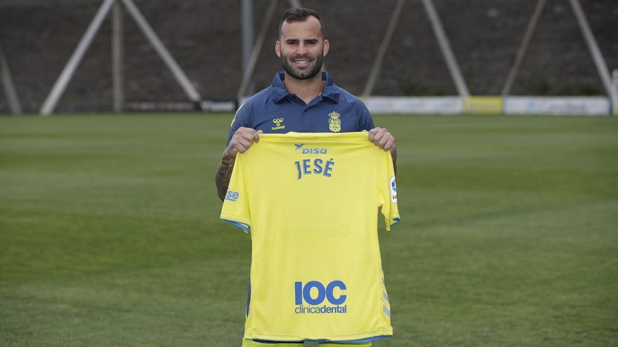 Presentación de Jesé como nuevo jugador de la UD Las Palmas