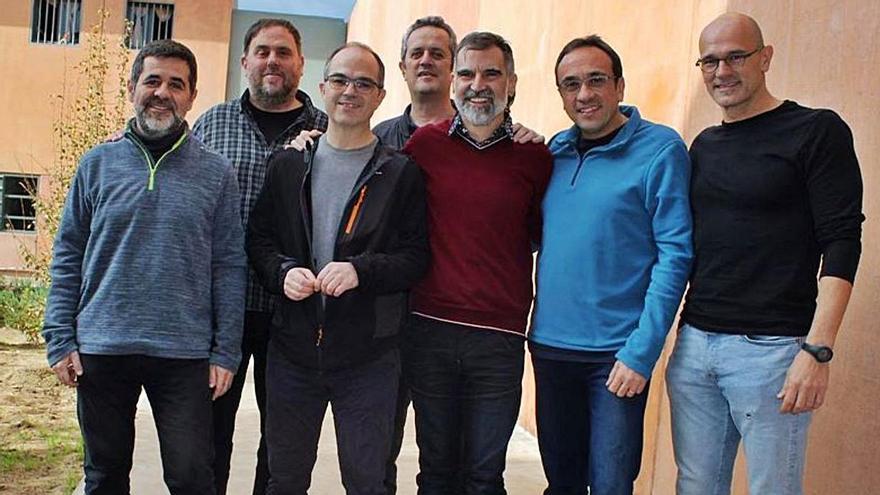 Els líders del procés empresonats a Lledoners | ARXIU/ACN/ÒMNIUM