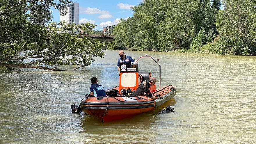 Localizado el cuerpo de un joven desaparecido en el río Pisuerga de Valladolid