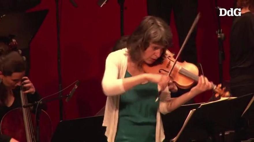 """Amandine Beyer porta el Vivaldi """"més gamberro i irreverent"""" al Festival de Torroella"""