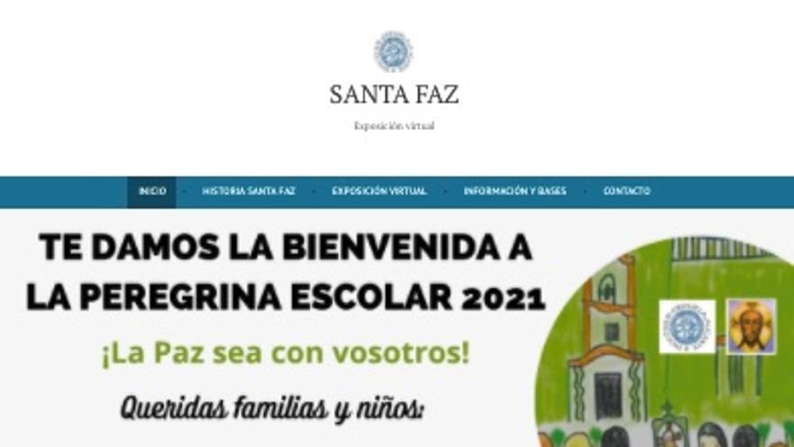 El Obispado organiza una Peregrina escolar virtual a la Santa Faz