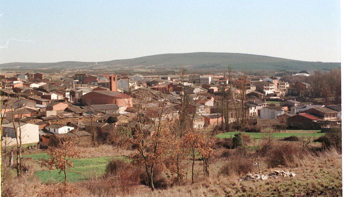 Vista de Riofrío de Aliste