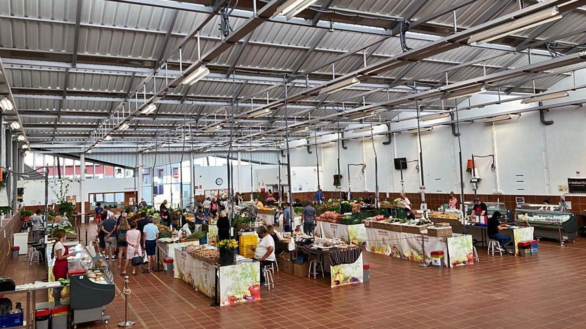 Mercado del Agricultor de Valle San Lorenzo.