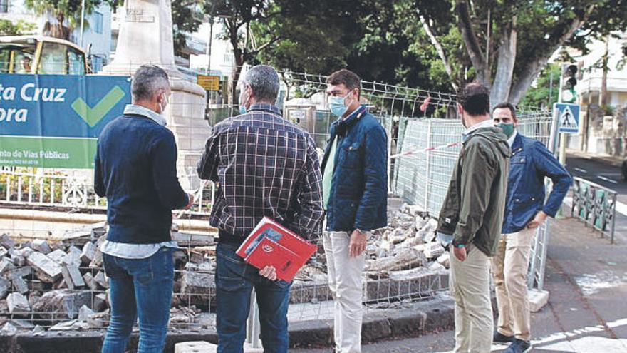 El Consistorio acondiciona el tramo de la Rambla en la rotonda de La Pureza