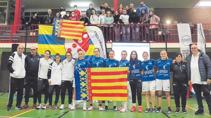 La selecció valenciana regna en Joc Internacional