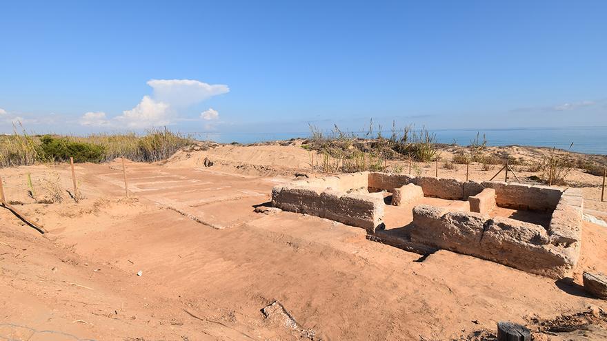 Guardamar halla una villa rústica romana en las excavaciones de la Torre del Descargador del Moncayo