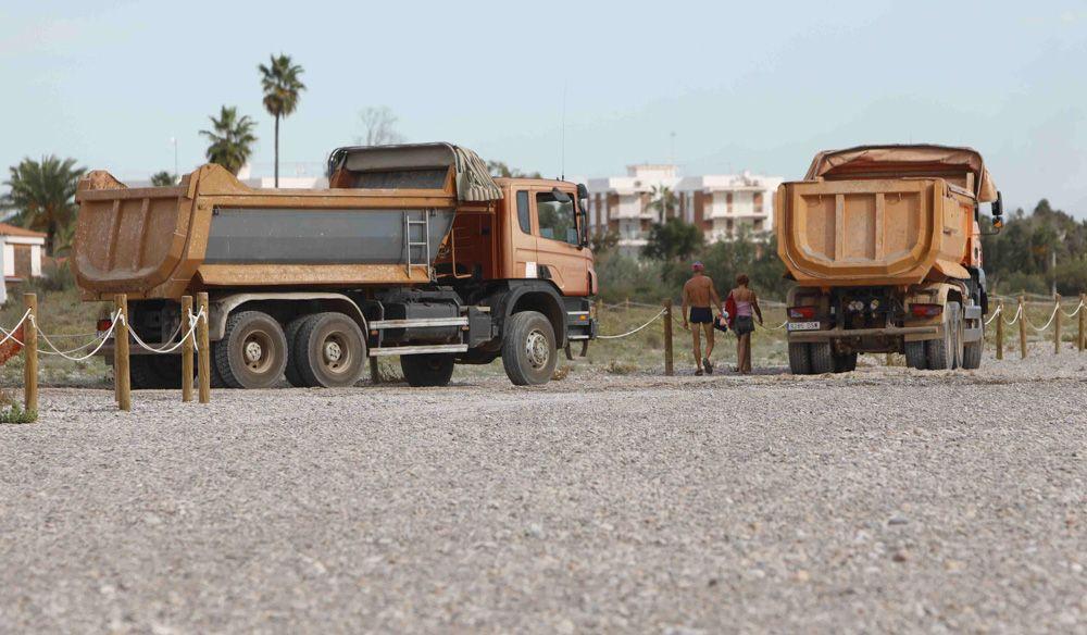 Retiran sin avisar piedra de la playa de Corinto para Almenara.
