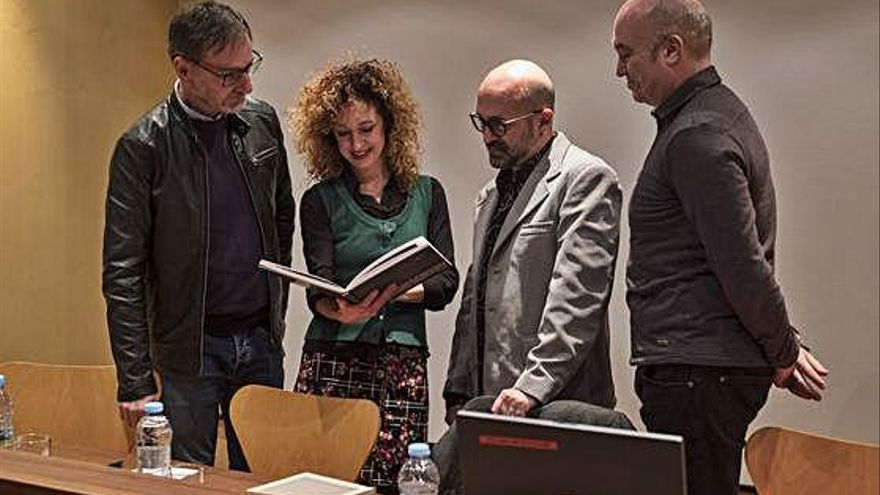 """Presentación del libro """"Olga Antón"""" en el Museo de Zamora"""