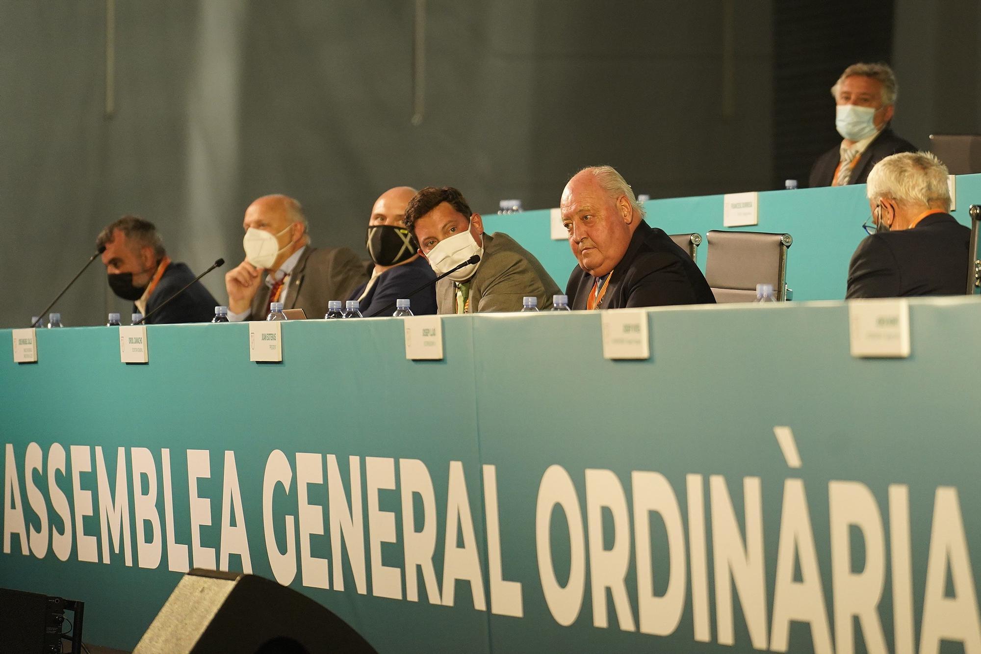 Joan Soteras surt reforçat de l'assemblea de clubs