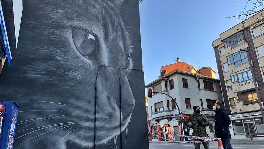 Lugones se pinta de gran ciudad europea