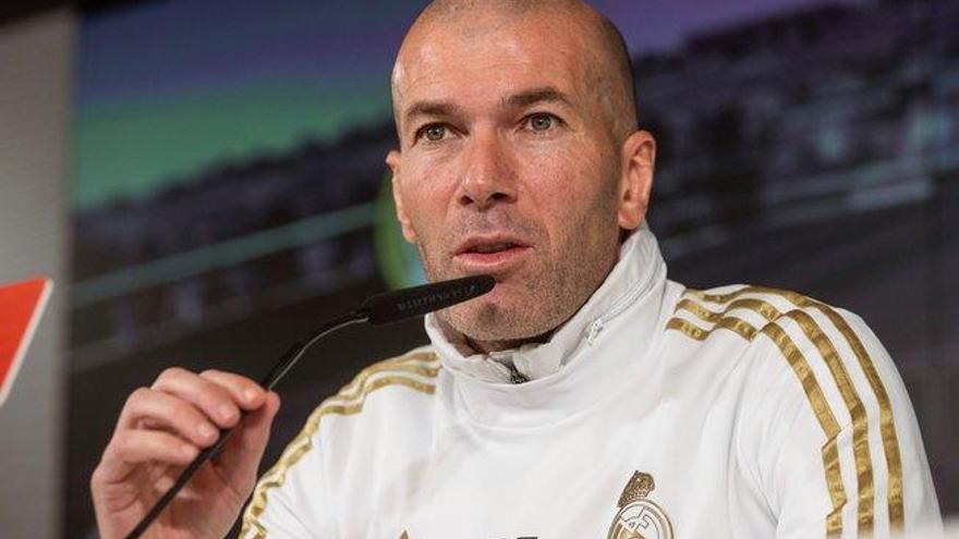 """Zidane: """"Estos jugadores son la hostia"""""""