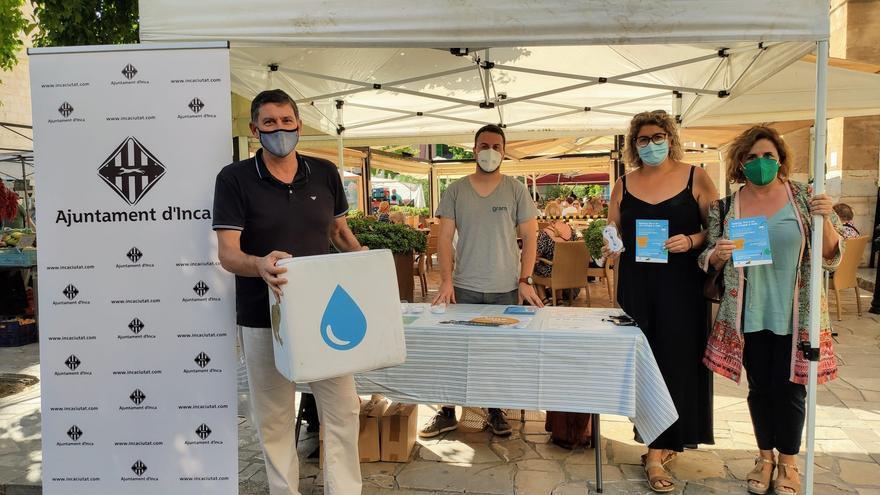 Inca inicia una campaña a favor del uso responsable del agua