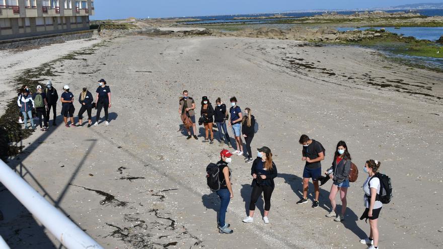 Una jornada solidaria con el medio ambiente en la costa de O Grove