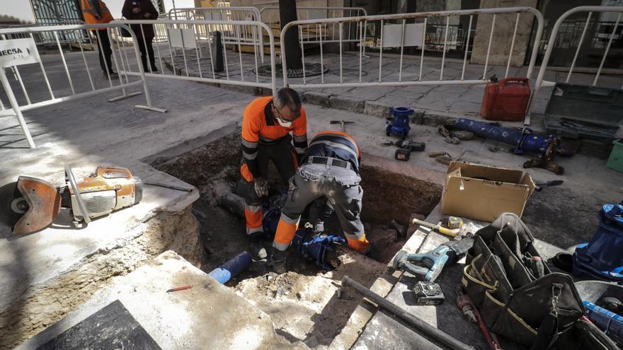 Ibi avanza en la primera fase para peatonalizar el casco antiguo