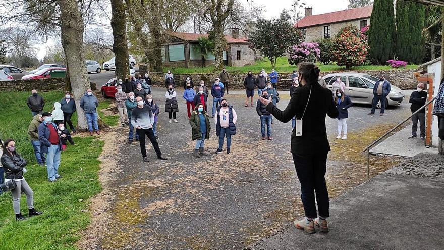 Vecinos de municipios afectados por eólicas se movilizan para crear una plataforma