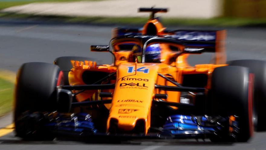 Hamilton, el más rápido en los libres con Alonso octavo
