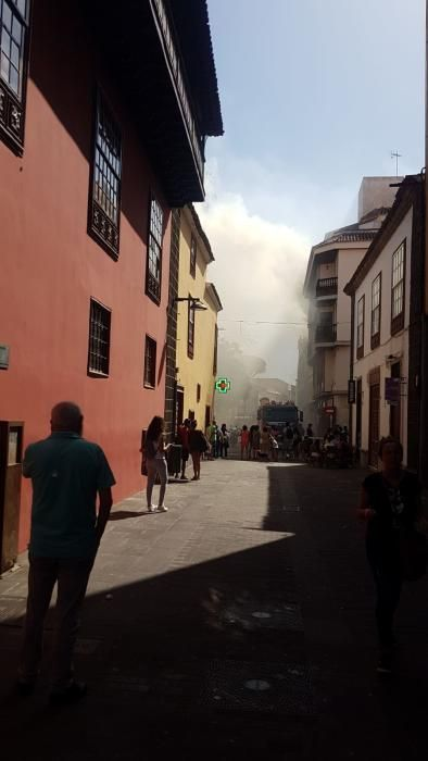 Incendio Ateneo de La Laguna