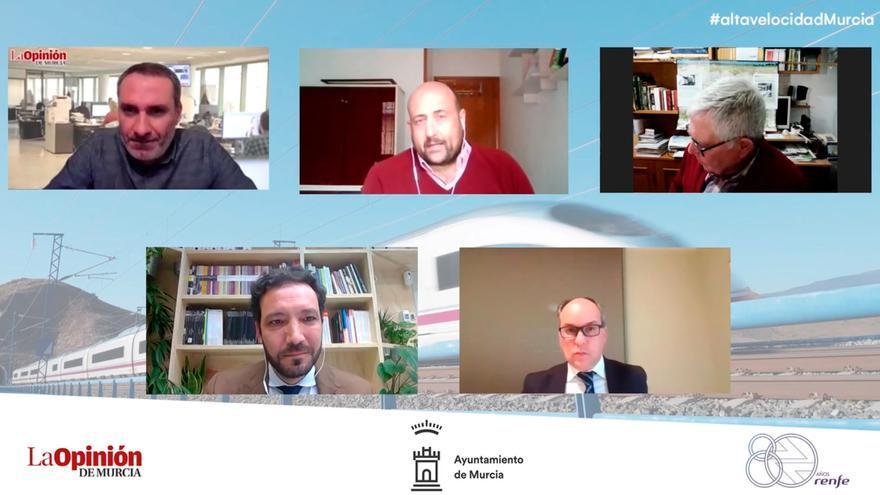 Alta Velocidad en Murcia: la opinión de los ponentes