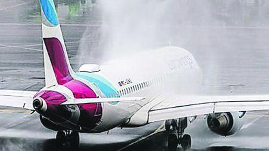 La Isla recupera uno de los 4 vuelos con Alemania anulados por Condor