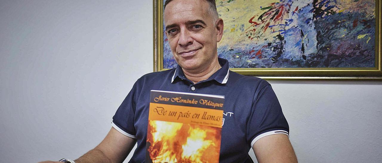Javier Hernández Velázquez : «La literatura es como el deporte, si no entrenas, no juegas»
