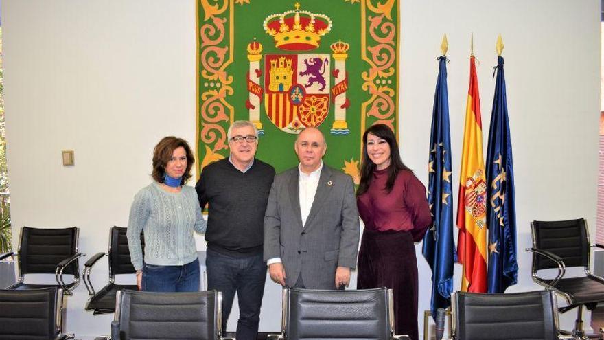 Puebla de Sanabria busca apoyos en Madrid para conmemorar el VIII centenario del Foro sanabrés