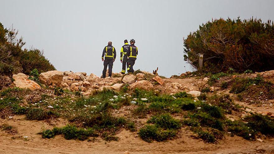 Continúa la búsqueda de los dos hombre desaparecidos en Ibiza