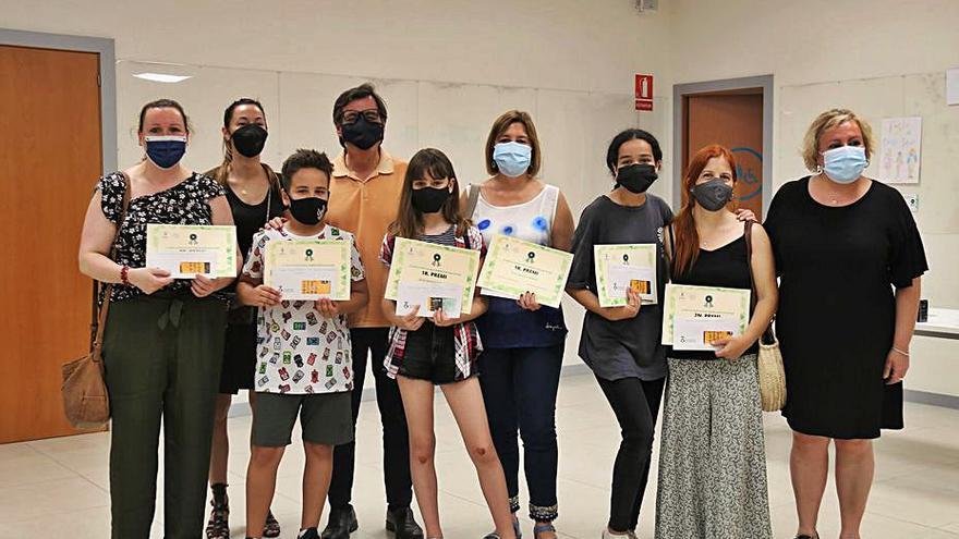 Entrega de premis del concurs per crear la imatge dels camins escolars segurs de Martorell