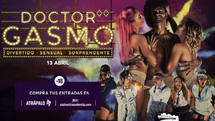 Nueva sesión del Doctor Gasmo, el dinner-show más sensual y divertido