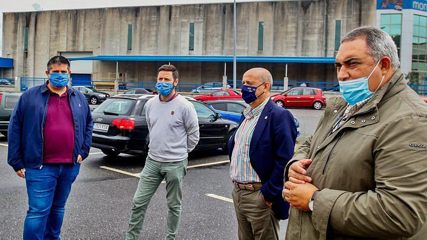 Xunta y Concello invertirán 120.000 euros en aumentar el número de plazas de aparcamiento en Sete Pías