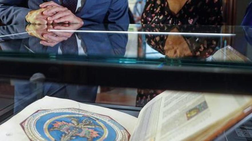 """El libro """"más espectacular del mundo"""" ya se puede visitar en la Biblioteca Nacional"""
