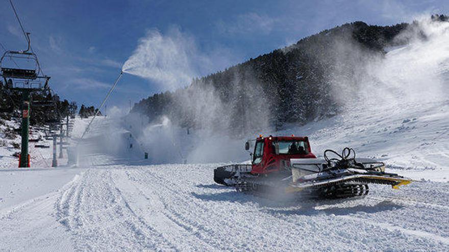 Masella inaugurarà la temporada d'esquí aquest dijous dia 1, un fet històric
