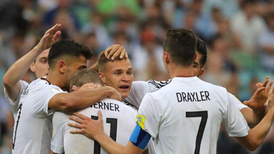 Alemania y Chile se clasifican para las semifinales en la Copa Confederaciones