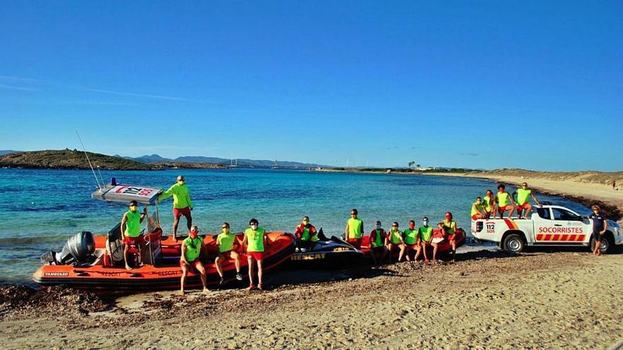 Los socorristas de Formentera rescataron a 36 personas este año