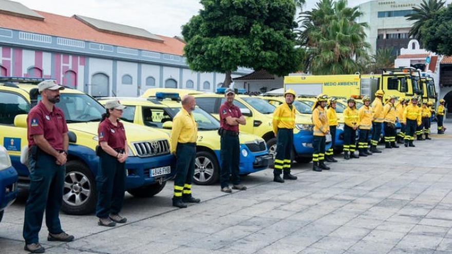 Presentación de la campaña contra incendios 2019 en Gran Canaria