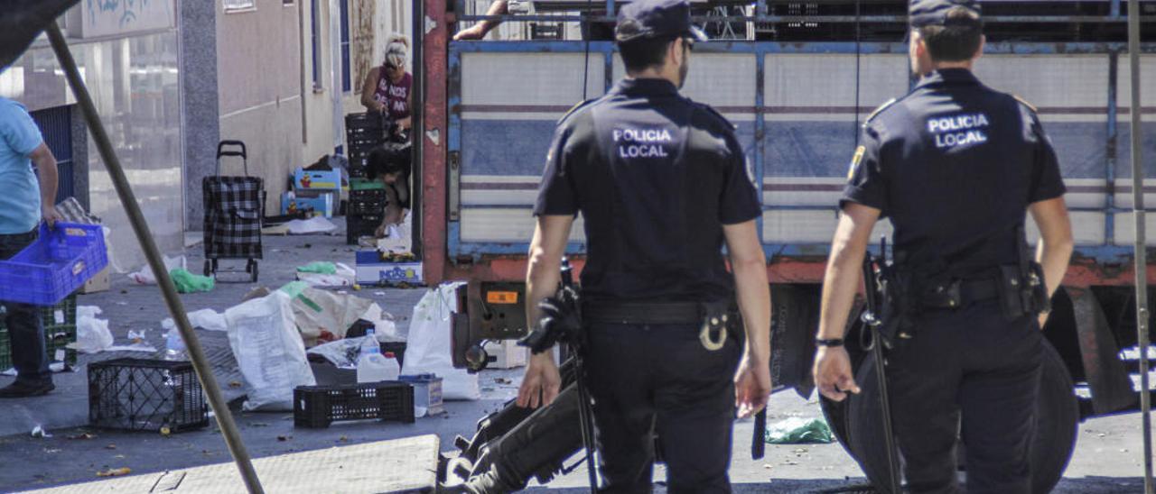 El GRO trabaja en operativos especiales como paseos, mercadillos o grandes eventos.