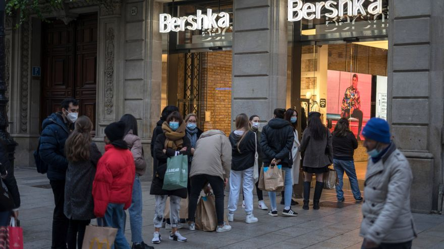 El comercio minorista vendió un 6,6% menos en el 2020 en Castilla y León