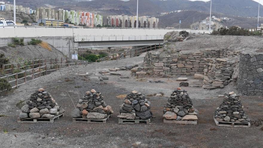 Recuperación de yacimientos arqueológicos en Jinámar