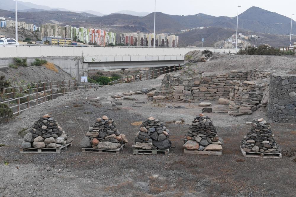 Recuperación de yacimientos arqueológicos en Telde