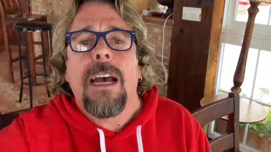 """Juan Muñoz ('Cruz y Raya') critica las medidas del Gobierno: """"Prefiero morirme de Covid que de asco"""""""