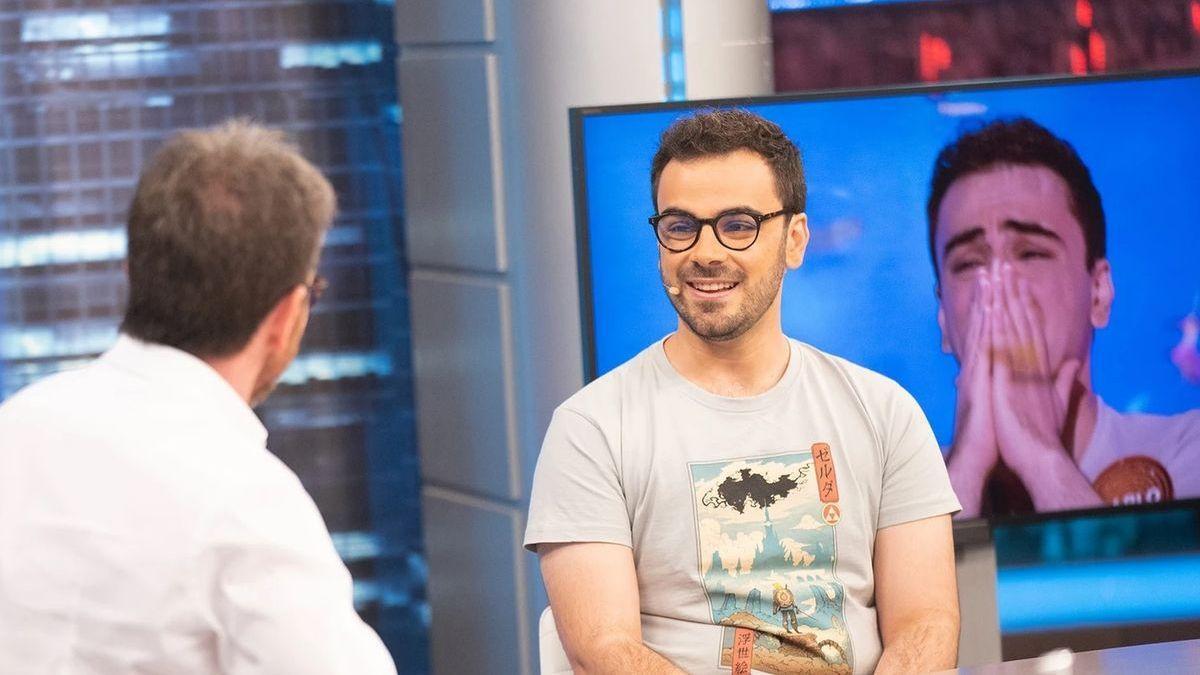 Pablo Díaz en 'El Hormiguero'.