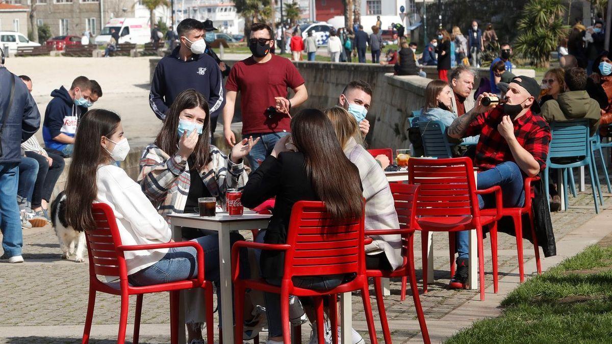 Imagen de esta misma mañana en Vigo, que no corresponde con ninguna de las denuncias de las que se informa en el cuerpo de la noticia.